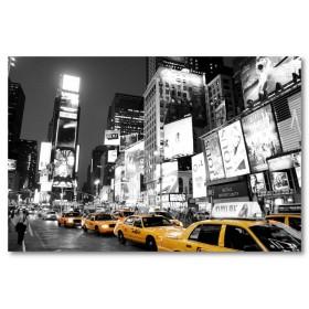 Αφίσα (μαύρο, λευκό, άσπρο, ταξί, αυτοκίνητα, κυκλοφορία)